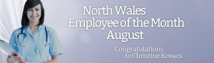 North Wales Employee of the Month for August