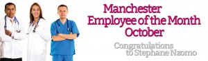 Manchester Employee of the month for October
