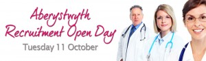Aberystwyth Recruitment Open Day – Tue 11 Oct