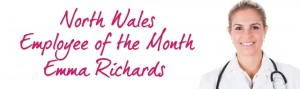 North Wales Employee of the Month Emma Richards